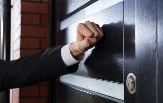 Beware Door Knocking Salesman
