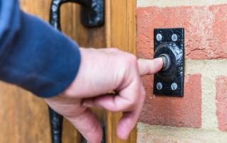 calgary home security door knocker